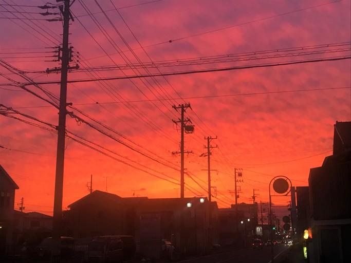 綺麗な夕焼け空