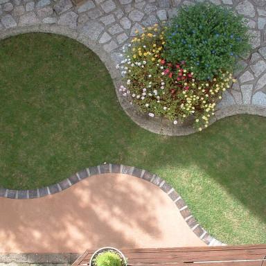 庭の改装完了