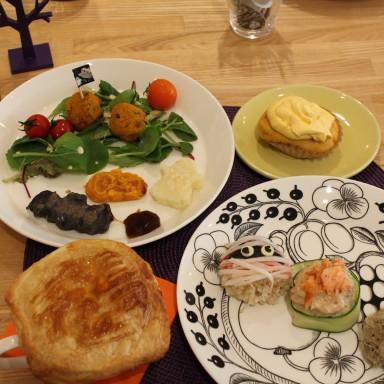10月料理教室~ハロウィンメニュー~