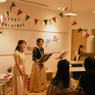 クリスマスミニコンサート開催